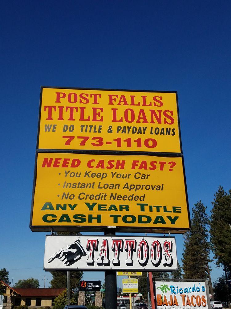 Post Falls Title Loans