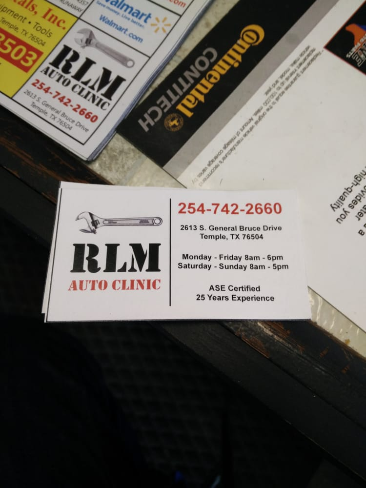 RLM Auto Clinic