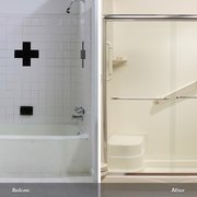 affordable bathrooms. before and after photo of affordable bathrooms - chandler, az, united states. 7