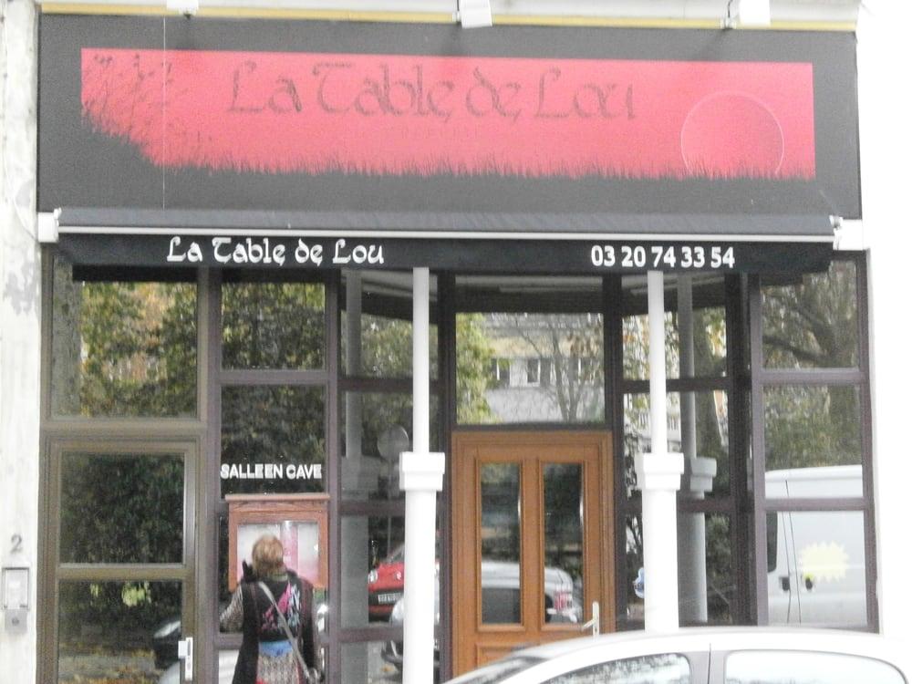 La Table De Lou Crepes 2 Place Philippe De Girard Wazemmes