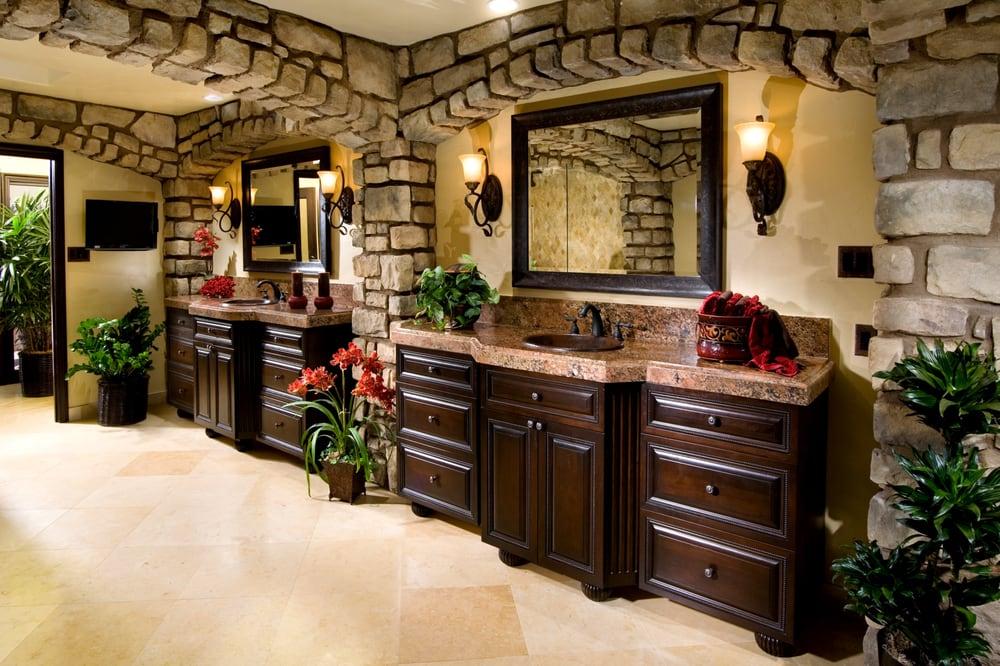 ... Niguel, CA, United States. A Mediterranean Bathroom in Laguna Beach