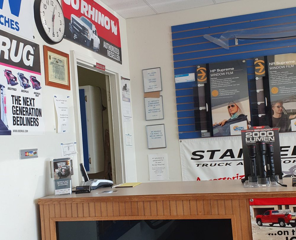 Rays Window Tint and Auto Accessories: 124 Grant Ave, Junction City, KS
