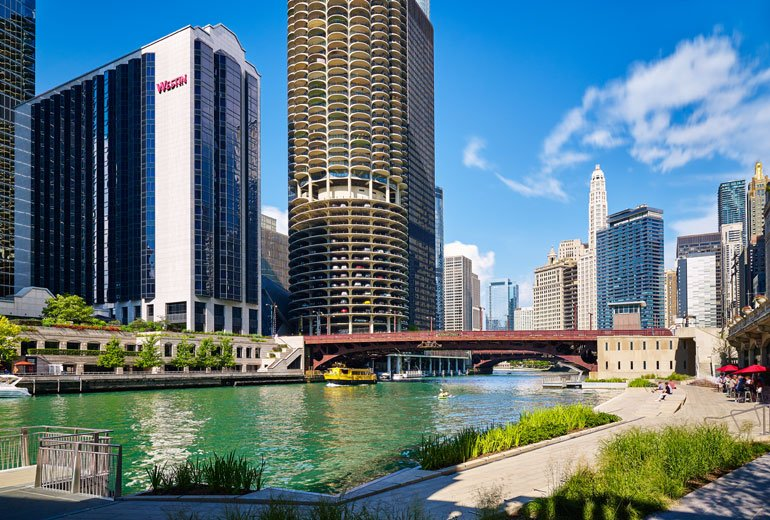 The Westin Chicago River North: 320 N Dearborn St, Chicago, IL