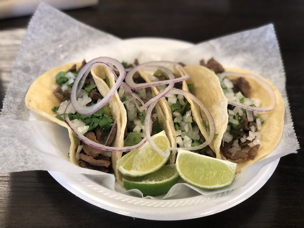 Food from Taco Bar Frederick