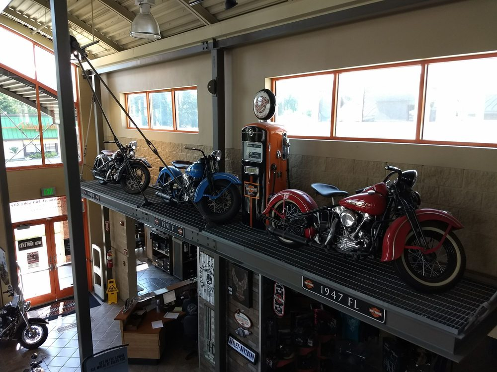 the awesome service department at salt lake city harley-davidson