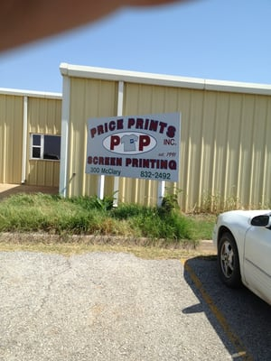 price prints inc sporting goods 300 n mcclary st new cordell