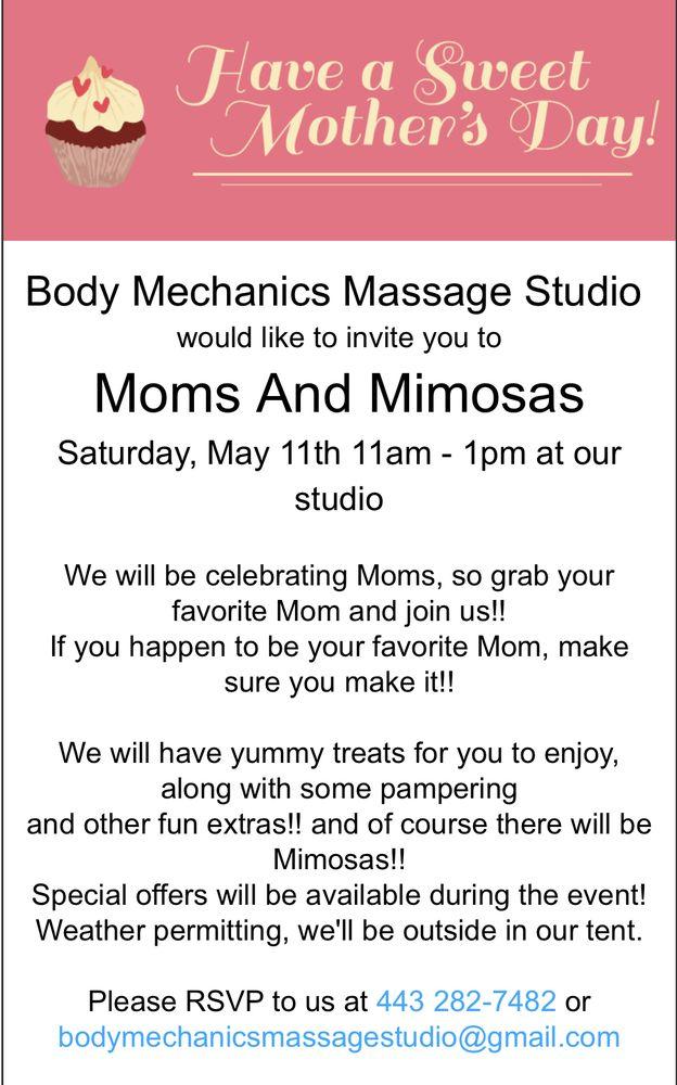 Body Mechanics Massage Studio: 102 S Lynchburg St, Chestertown, MD