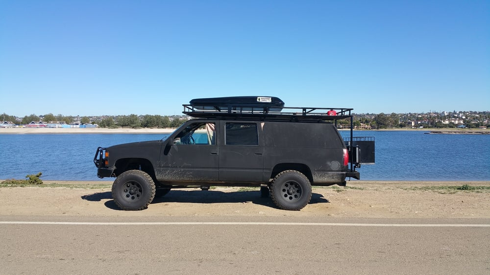 & My 1997 chevy suburban w rooftop tent by BIGFOOT - Yelp