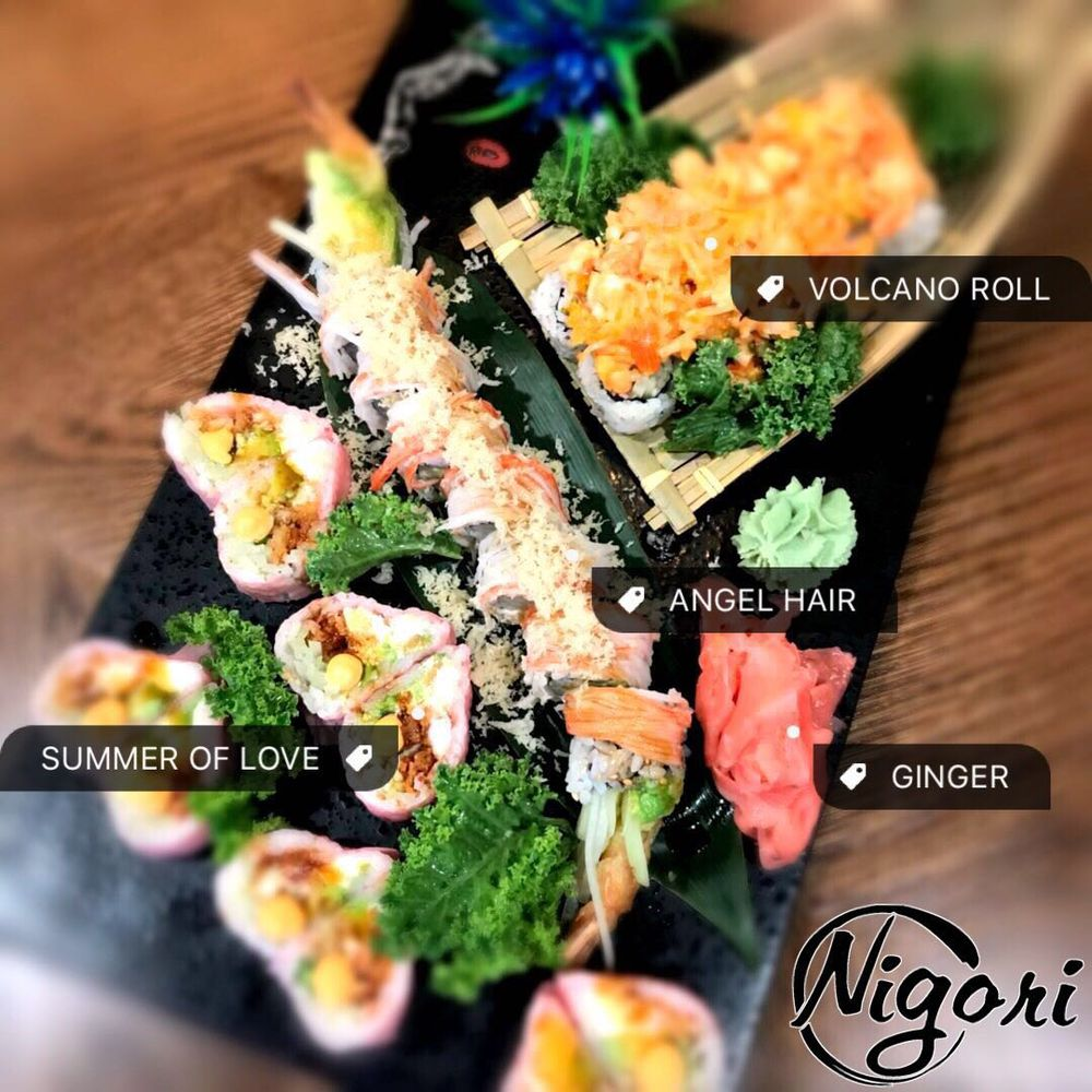 Nigori Gourmet & Sushi bar: 2549 Castle Hayne Rd, Wilmington, NC