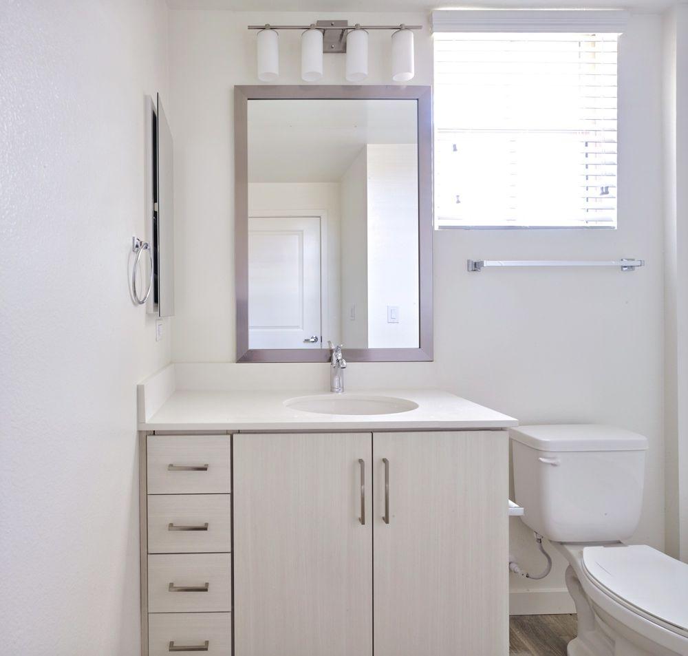 Henderson Apartments: Castile Henderson Apartments Bathroom And Basin