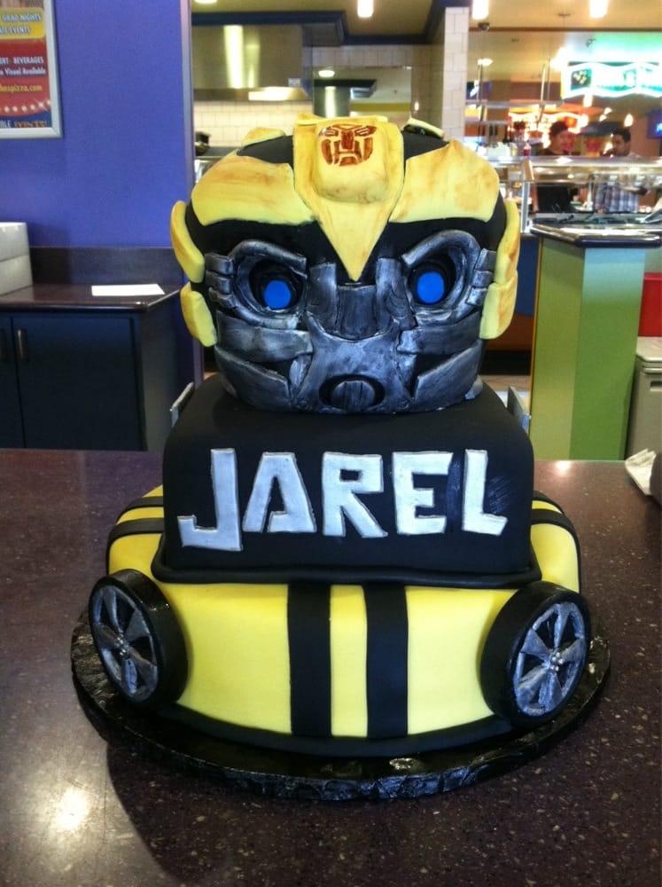 Transformers Bumblebee Birthday Cake Yelp