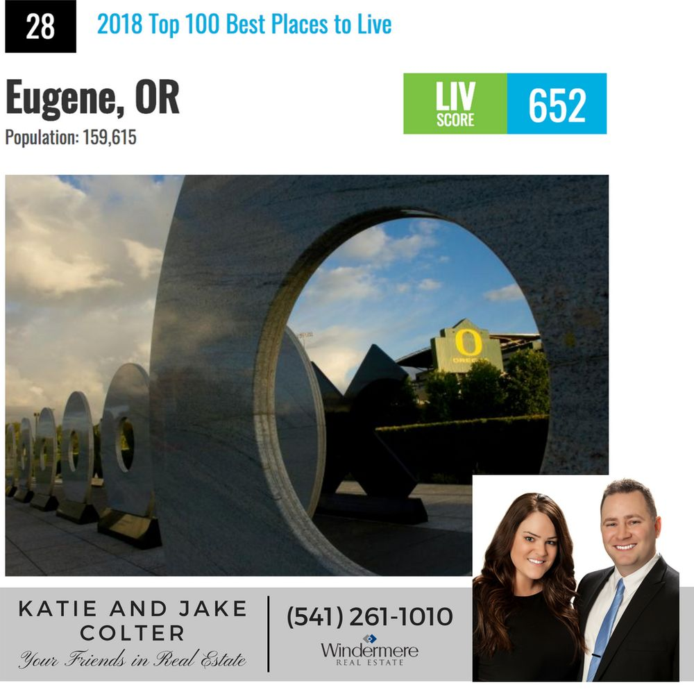Jake and Katie Colter - Realtors: Eugene, OR