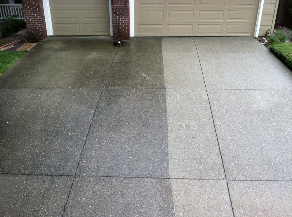 Clean n seal masonry concrete 6995 island rd for Concrete pressure washer