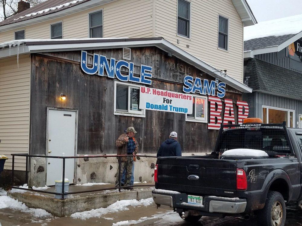 Uncle Sam's Bar: 105 E Mary St, Bessemer, MI