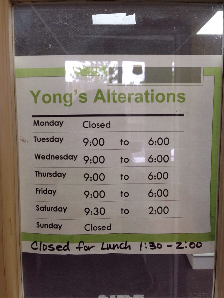 Yong's Alterations: 620 SE State Rte 291, Lees Summit, MO
