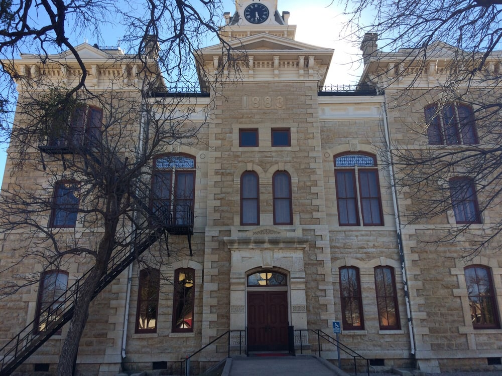 Shackelford County Court House: 225 S Main St, Albany, TX