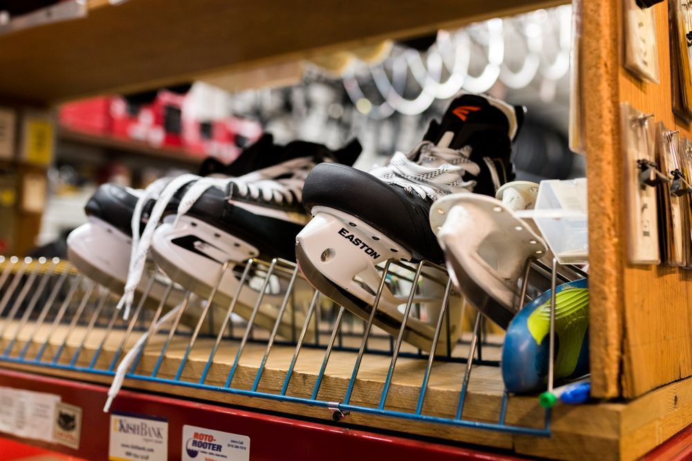 Eddie's Bicycles & Hockey Equipment: 480 E College Ave, State College, PA