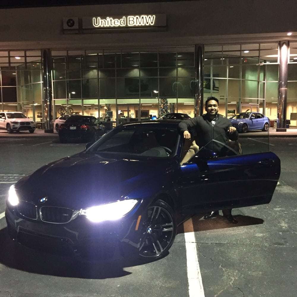 Thanks Vinith And The United Bmw Team I Love My M4 Yelp