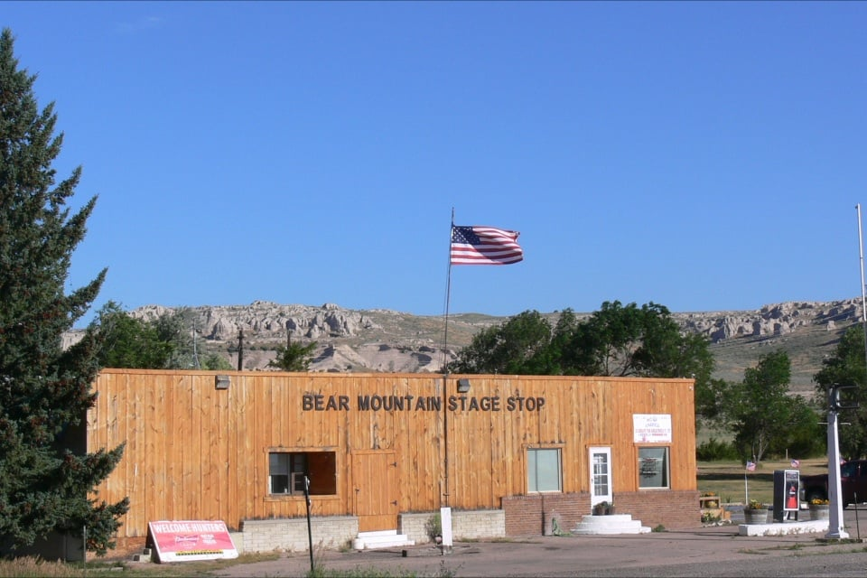 Bear Mountain Stage Stop: 1252 US Highway 85, Lagrange, WY