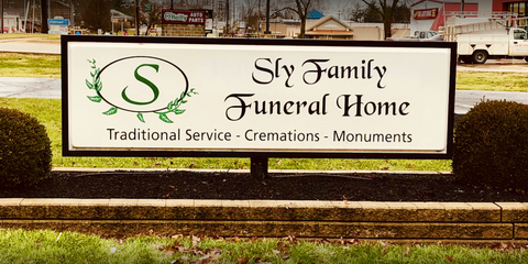 Sly Family Funeral Home: 15670 W High St, Middlefield, OH