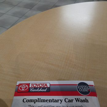 Photo Of Toyota Carlsbad Parts Service Ca United States Complimentary