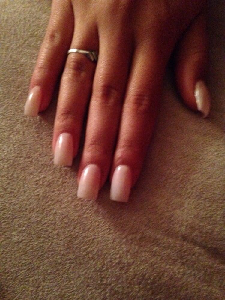 I got acrylic nails Full set and a sheer pink - Yelp