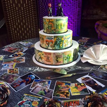 Polly Ann Bakery 68 Photos 80 Reviews Bakeries 1440 W 8th - Comic Book Wedding Cake