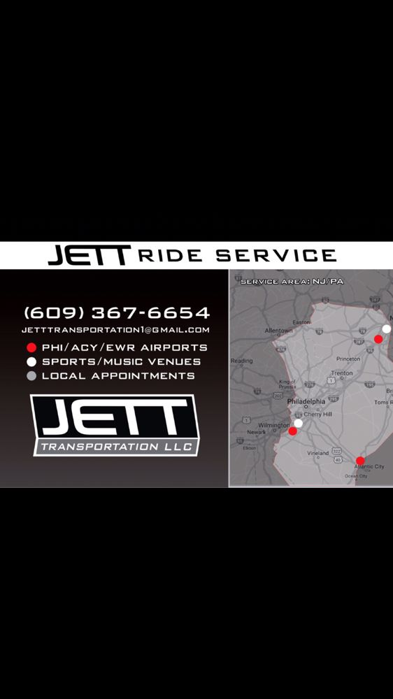 Jett Ride Services: Mount Laurel, NJ