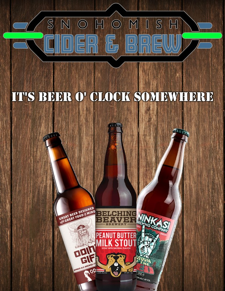 Snohomish Cider & Brew: 2707 Bickford Ave, Snohomish, WA