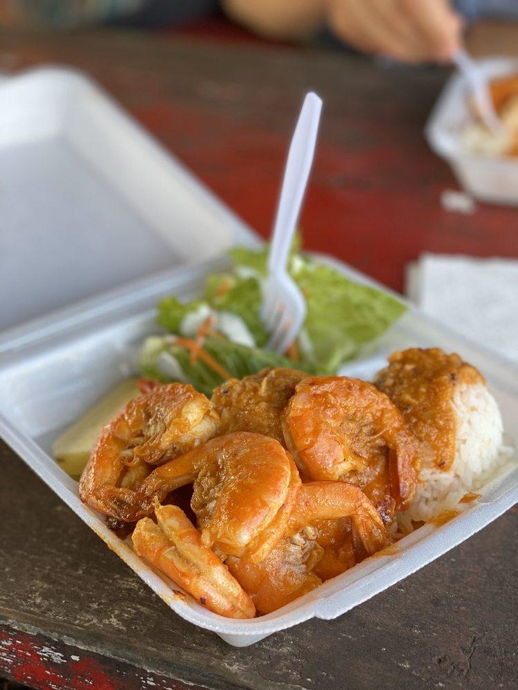 Aloha Shrimp: 53-534 Kamehameha Hwy, Hauula, HI