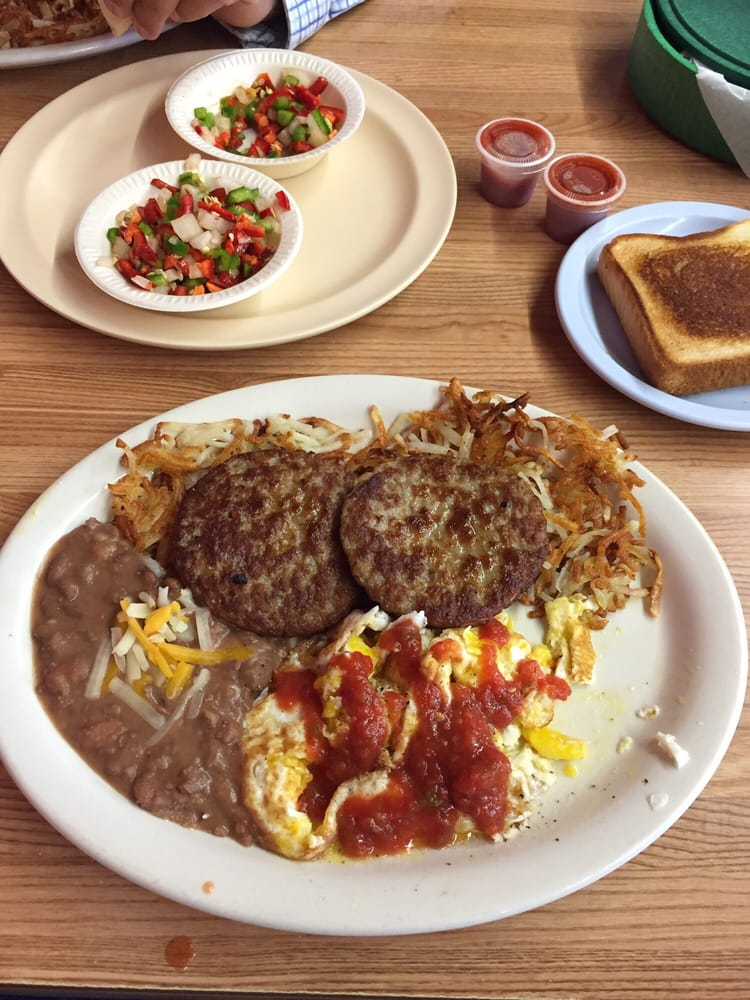 Rico's Cafe: 119 N Broadway St, Mertzon, TX