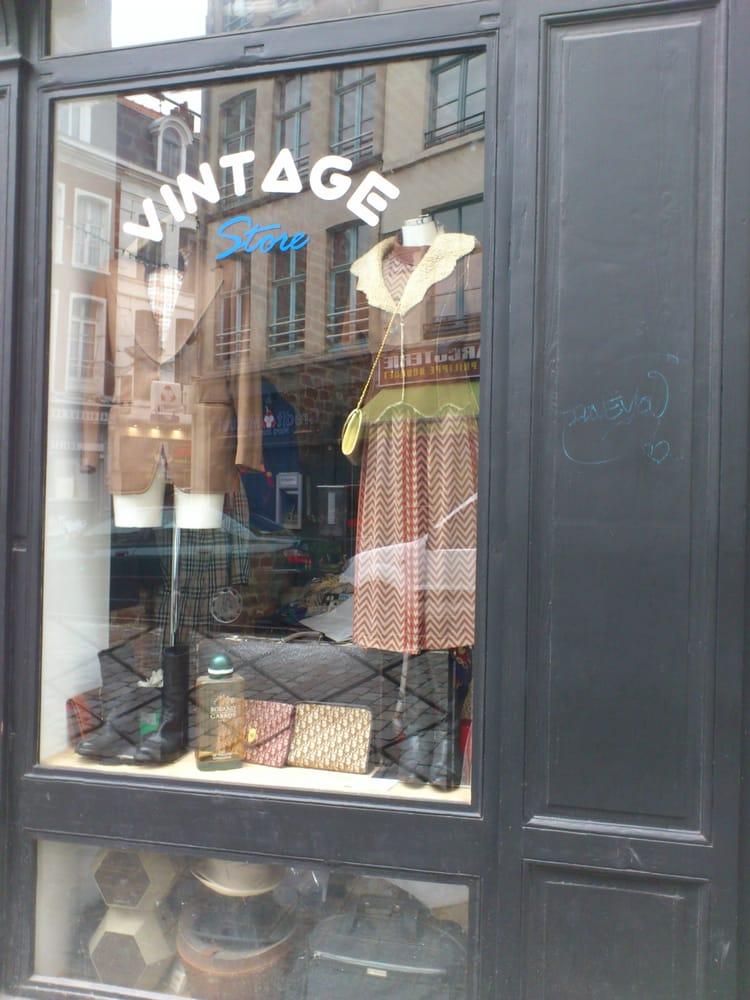 Vintage store opportunity shop thrift store 5 rue de la barre vieux lill - Boutique vintage lille ...