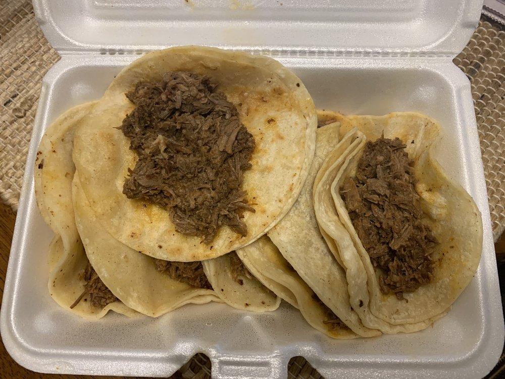 Food from Taqueria El Toro