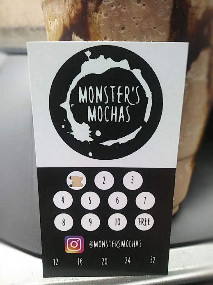 Monster's Mochas: 916 E Wishkah St, Aberdeen, WA