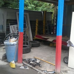 Photo Of Nicku0027s Auto Repair   Houston, TX, United States. Paint Booth.