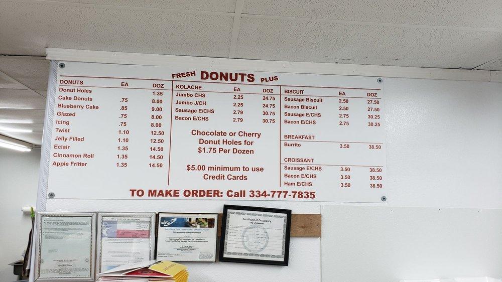Donut Shack: 104 NW 2nd St, Dimmitt, TX