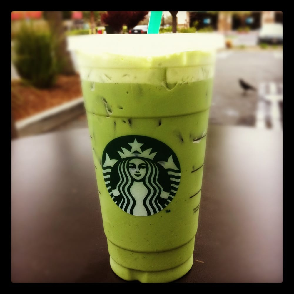 Venti Iced Green Tea Latte With Vanilla Bean. My Weakness