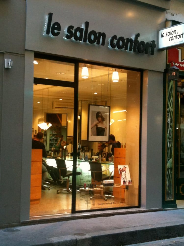 Salon confort coiffeurs salons de coiffure 7 rue for Salon de coiffure lyon 7