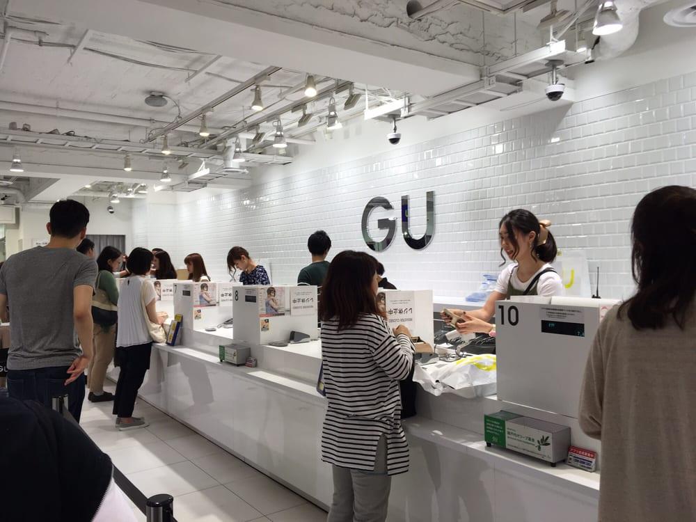 GU ビックロ店