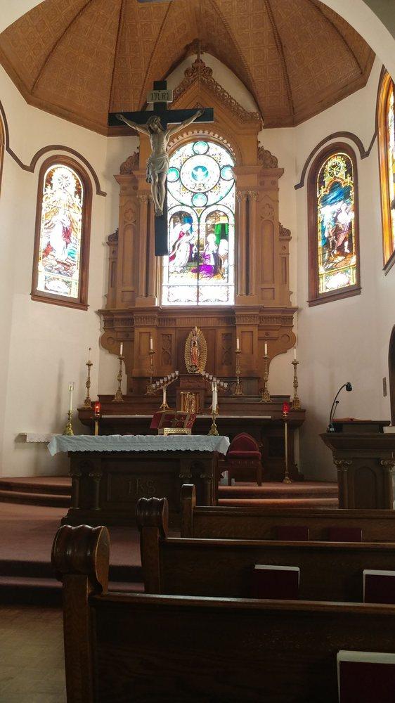 St Mary's Catholic Church: 727 S Travis St, Sherman, TX