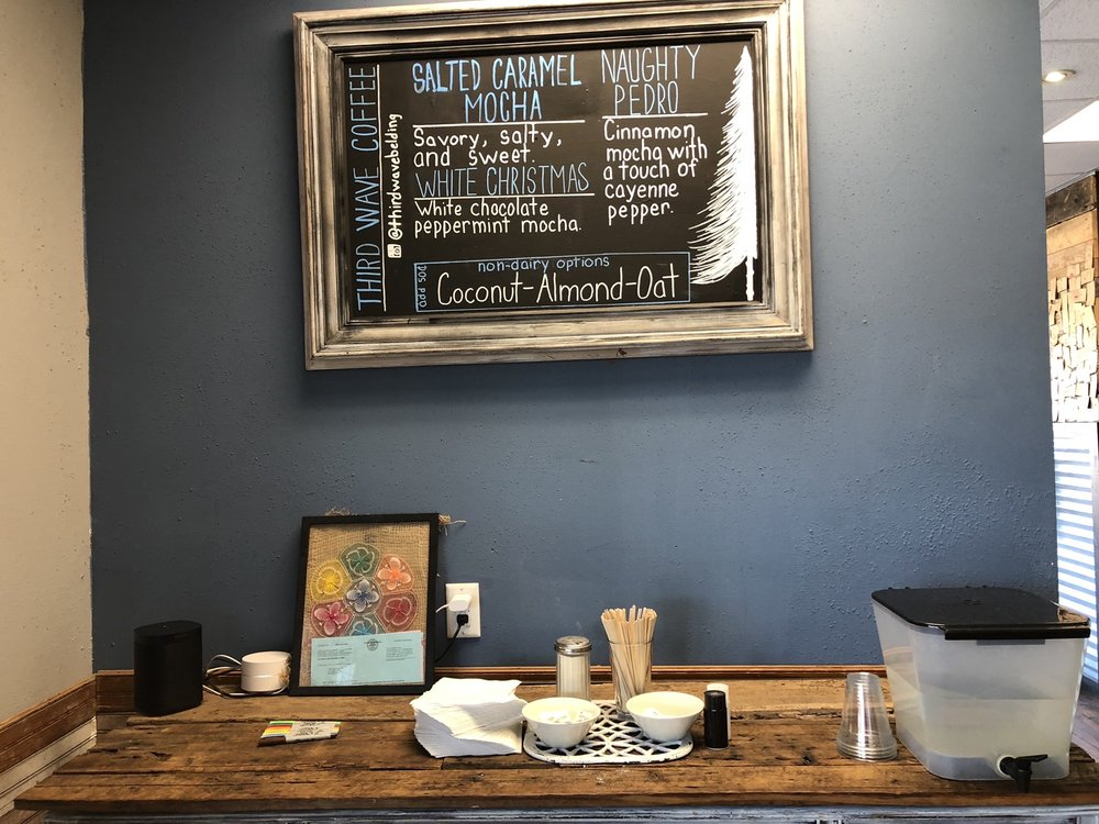 Third Wave Coffee: 215 E State St, Belding, MI