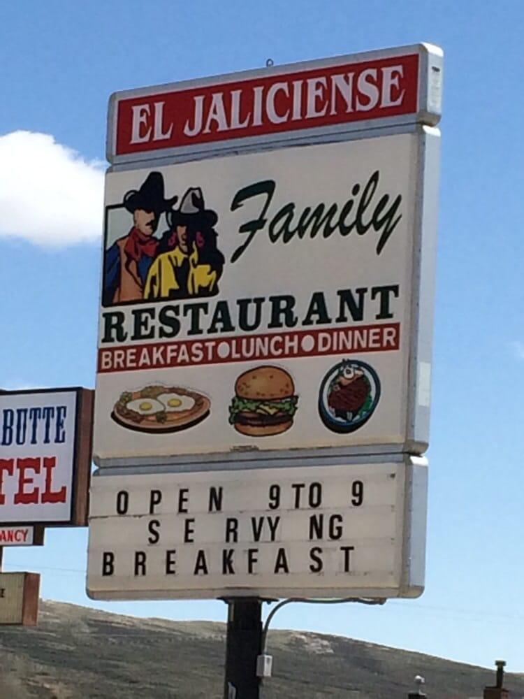 El Jalisciense Mexican Restaurant: 1433 Central Ave, Kemmerer, WY