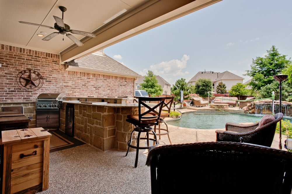 Photo Of Dfw Improved Plano Tx United States Outdoor Living Area With