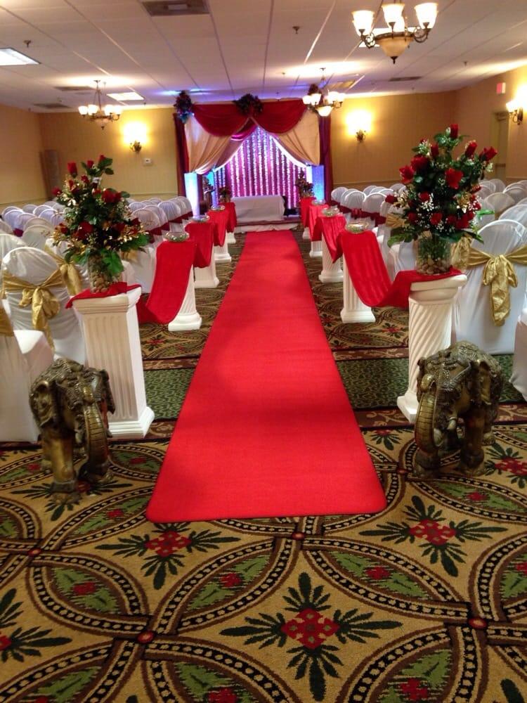 Wedding mandap aisle yelp for Angeethi indian cuisine leesburg va