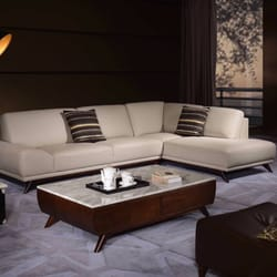 Photo Of Derucci Furniture   Queens, NY, United States. Leather Sofa