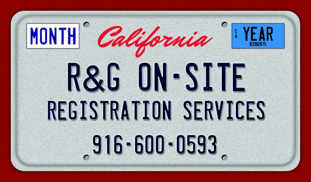 R & G On-Site Registration Services: 2400 Fulton Ave, Sacramento, CA
