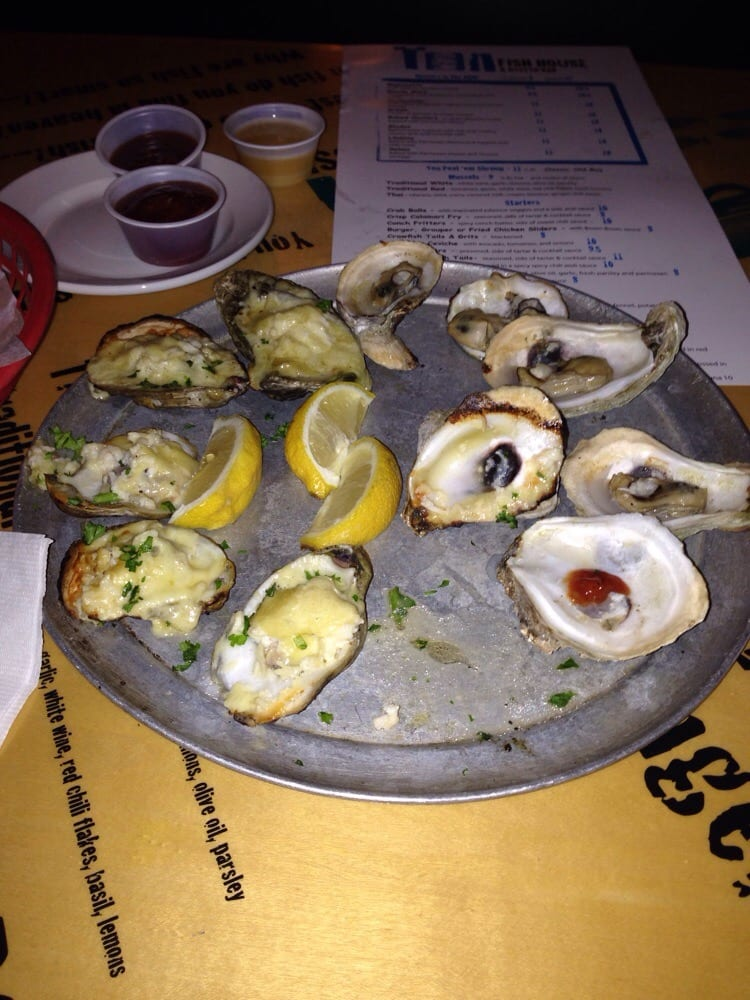 Oysters yelp for Tin can fish house