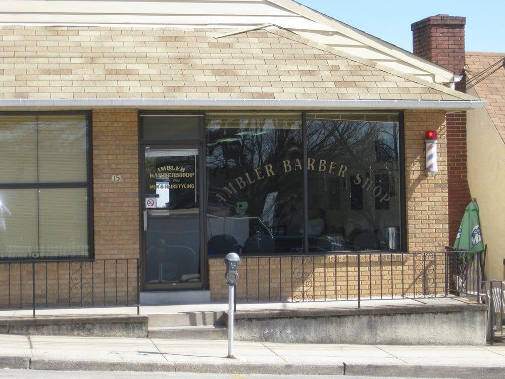 Ambler Barber Shop: 15 Lindenwold Ave, Ambler, PA