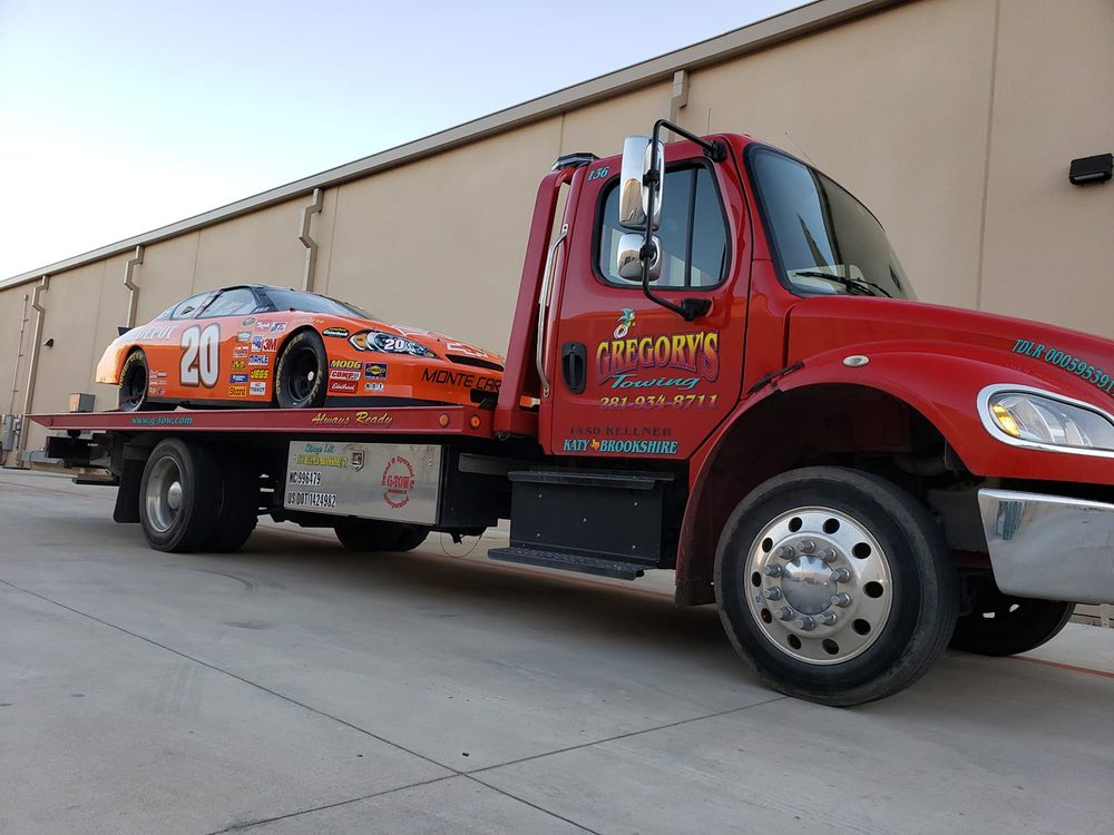 Gregory's Towing: 1450 Kellner Rd, Brookshire, TX