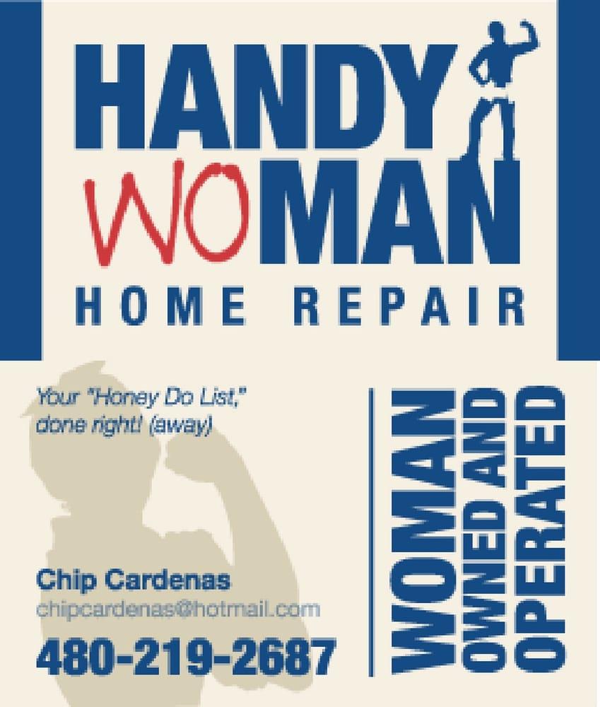 Handy Woman Home Repair - Handyman - 5123 E Halfmoon, Phoenix, AZ ...